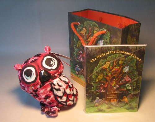 Owl Pals Gift set - Plush 6 inch Red Owl + storybook - 1