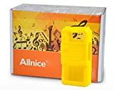 Allnice® Bright Yellow Portable Silicone Soft Walkie talkie Rubber Protective Case for two way Baofeng radio UV-5R UV-5RA UV-5RB UV-5RE UV-5RE+