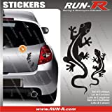 2 stickers SALAMANDRE