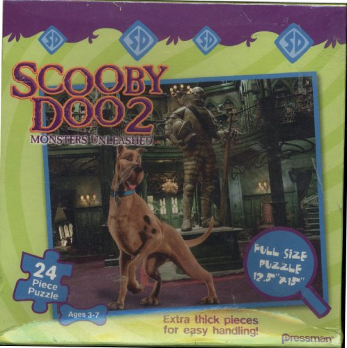 Scooby-Doo 2 - Monsters Unleashed - Movie Puzzle - 24 Pieces