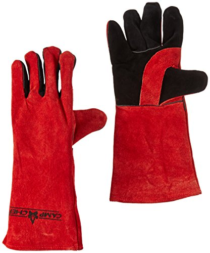 Camp Chef Heat Resistant Gloves for this dutch oven pizza camping recipe