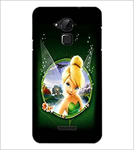 PrintDhaba Cute Angel D-2287 Back Case Cover for COOLPAD NOTE 3 LITE (Multi-Coloured)