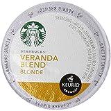 Starbucks Veranda Blend Blonde, K-Cup for Keurig Brewers, 60 Count