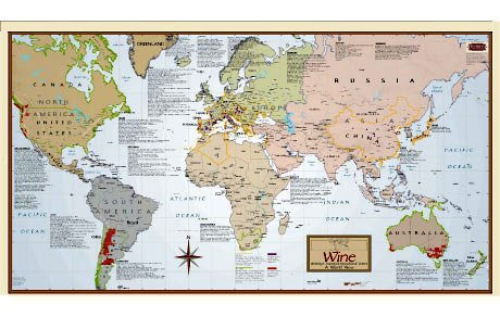 Hot Deals With Wine Region Map Of The World The Promotion Today