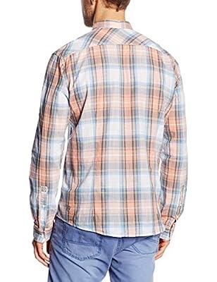 Tom Tailor Denim Men's Summer Tartan Leisure Shirt