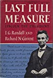 img - for Lincoln the President: Last Full Measure book / textbook / text book