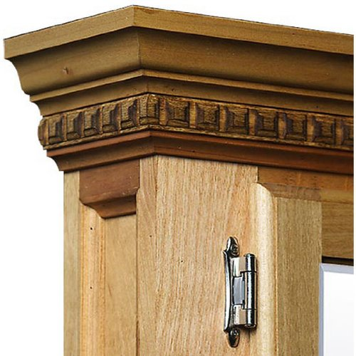 2012 Save Canby Raleigh Custom Double Medicine Cabinet Standard Unfinished Right Hinge