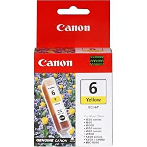 Canon BCI-6Y Ink Tank-Yellow
