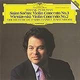 Saint-Saëns : Concerto pour violon n° 3, Wieniawski : Concerto pour violon n° 2