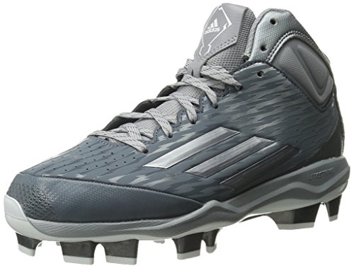 Adidas Performance Men S Poweralley  Tpu Mid Baseball Shoe
