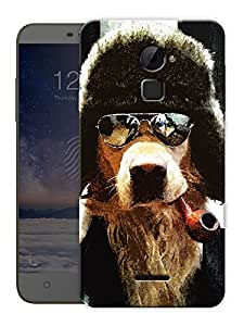 """Cool Sharp Dog Printed Designer Mobile Back Cover For """"Coolpad Note 3 Lite"""" By Humor Gang (3D, Matte Finish, Premium Quality, Protective Snap On Slim Hard Phone Case, Multi Color)"""