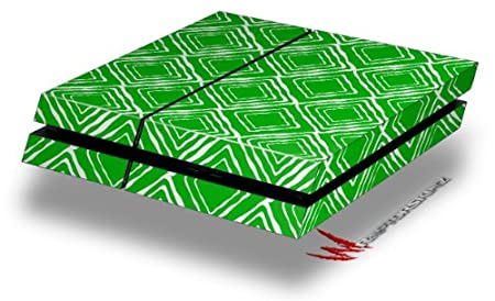 Wavey Green - Decal Style Skin fits original PS4 Gaming Console