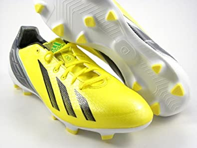 adidas Men's F30 TRX FG Low Soccer Cleats - Size: 8, Yellow/black