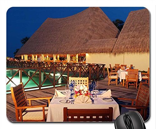 Luxus-Outdoor-Resort-Esstisch-Mauspad-Mousepad-Strnde-Maus-Pad