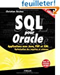 SQL pour Oracle: Applications avec Ja...