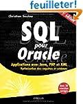 SQL pour Oracle: Applications avec Ja...