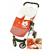 Tuc Tuc Red Stroller's Bunting Bag, Universal Footmuff Snugle Bag. Koala Collection.