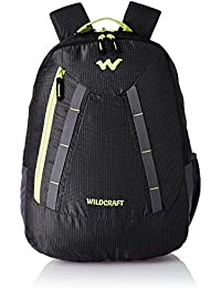 Wildcraft Polyester 42 Ltrs Black School Backpack (WC 3 Latlong 3)