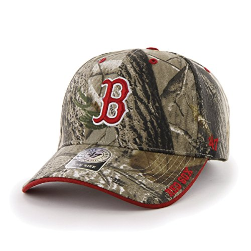 MLB Boston Red Sox Real Tree Frost Camouflage Adjustable Hat, One Size, Realtree Camo (Red Sox Gifts compare prices)