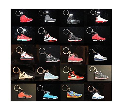 Air Jordan Michael Jordan Shoe Game Basketball Jumpman Key Chain Keychains (Get these 20 Keychains)