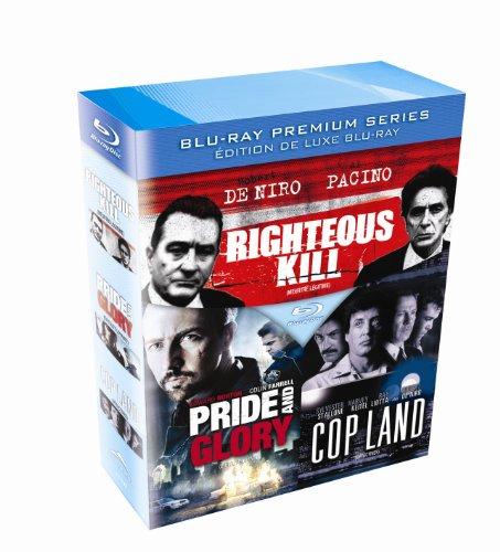Righteous Kill-Pride And Glory- Cop Land - Blu-ray - Boxset - Blu-ray