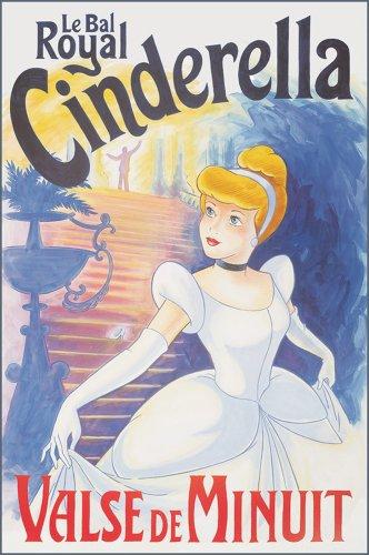 "Art 4 Kids ""Cinderella, Le Bal"" Mounted Art Print, 24""X36"" front-665805"