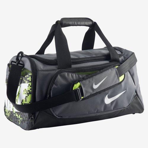 Nike Young Athletes Team Training Small Duffel Dark Grey/Black/(White) - Nike All Purpose Duffels