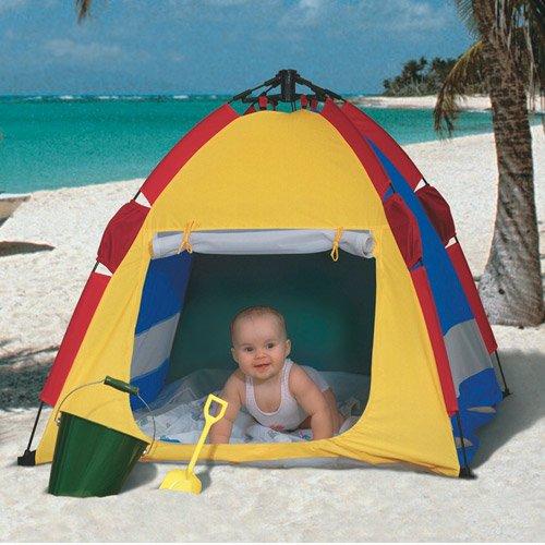 Portable Beach Cabana W/ Shade For Kids Lightweight W/ Carry Bag front-874315