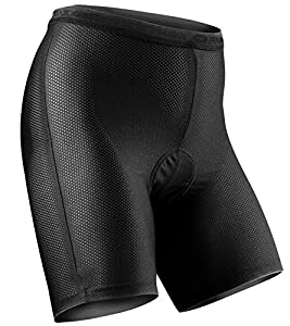 Sugoi Women's S.100 Liner Cycling Under Short - Black, Small