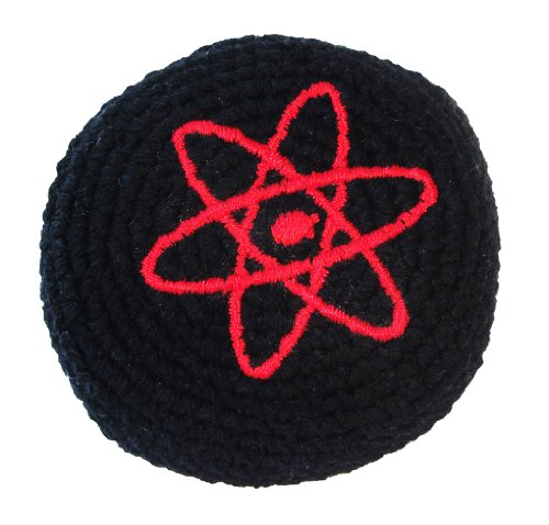 Hacky Sack - Atomic with Black Background