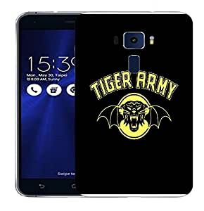 Snoogg Tiger Army Designer Protective Back Case Cover For ASUS ZENFONE 3 ZE520KL