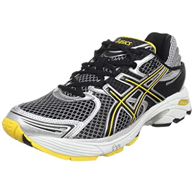 ASICS Men's GEL-Landreth 6 Running Shoe,Black/Onyx/Yellow,10.5 M US