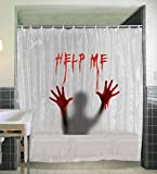 Costumes For All Occasions SS81732 Shower Curtain Help Me