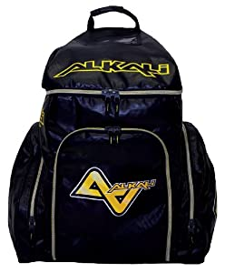 Alkali Hockey CA9 Backpack (Black, One Size) by Alkali Hockey