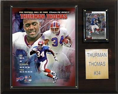 NFL Thurman Thomas Buffalo Bills Player Plaque