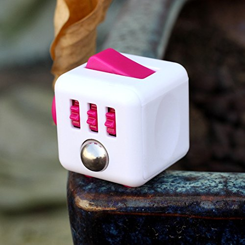Rose Anxiety Fidget Cube