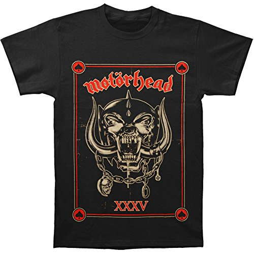 Motorhead Men's Anniversary (Propaganda) T-shirt X-Large Black (Motorhead T Shirt compare prices)