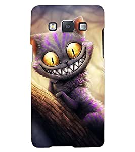 Printvisa Premium Back Cover Spooky Cat Staring Design For Samsung Galaxy A5::Samsung Galaxy A5 A500F