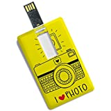 Credit Card Shape 16GB Pen Drive I Love Photo Printed Fancy Pendrive By 100yellow