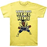 Marvel Men's Luke Cage Hero For Hire Fitted Cotton T Shirt