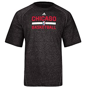 Chicago Bulls Adidas 2013 NBA Practice Climalite Performance T-Shirt by adidas