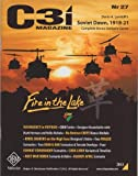 GMT: C3i Magazine #27 including Soviet Dawn Solitaire Board Game