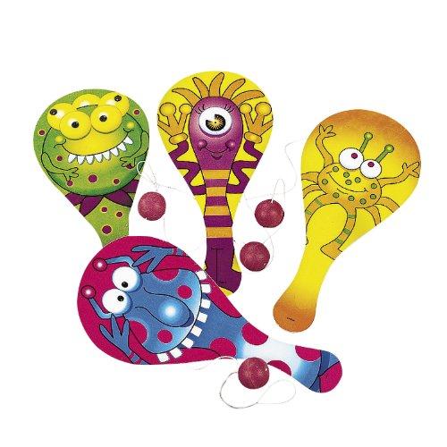 Monster Paddleball Games (1 dz) - 1