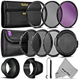 72MM Must Have Lens Filter Accessory Kit for CANON (EF 35mm f/1.4L, EF 85mm f/1.2L II, EF 135mm f/2L), NIKON (85mm f/1.4, 18 200mm f/3.5 5.6G) Lenses