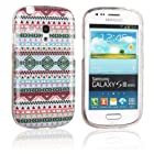 Einzige Colorful Soft Gel Flexible TPU Silicone Skin Case Cover for Samsung Galaxy S3 S III Mini I8190 with different Design (Design 02)