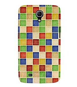 MULTICOLOURED CHECK PATTERN 3D Hard Polycarbonate Designer Back Case Cover for Samsung Galaxy Mega 6.3 i9200 :: Samsung Galaxy Mega 6.3 i91200