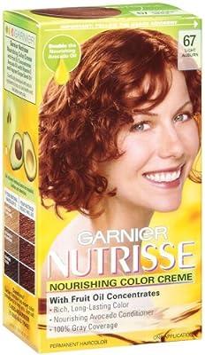 Best Cheap Deal for Garnier Nutrisse Haircolor, 67 Light Auburn Ginger Spice from Garnier Hair Color - Free 2 Day Shipping Available