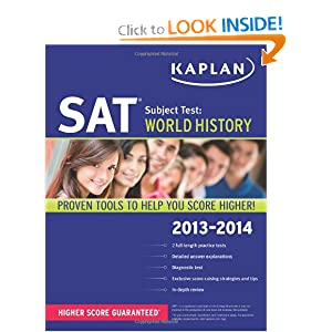 Kaplan SAT Subject Test World History 2013-2014 (Kaplan SAT Subject Test Series) by Kaplan