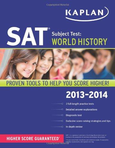 Kaplan SAT Subject Test World History 2013-2014 (Kaplan Test Prep)