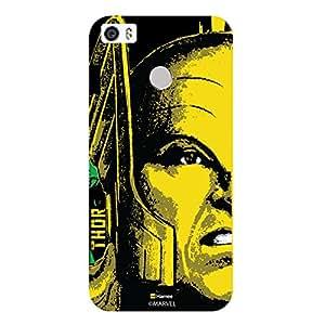 Hamee Marvel Coolpad Max Case Cover Thor Faceblack